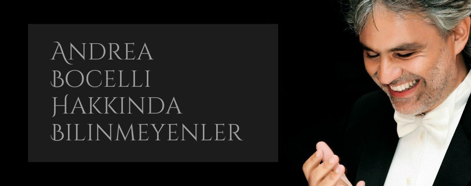 Andrea Bocelli hakkında