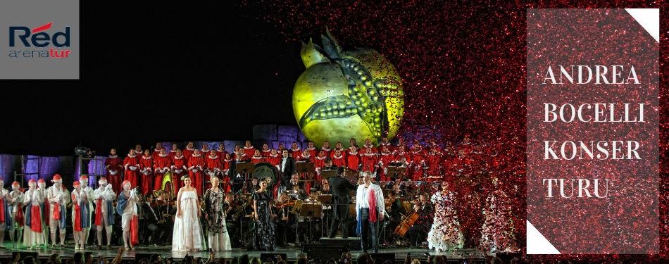 Andrea Bocelli konser turu