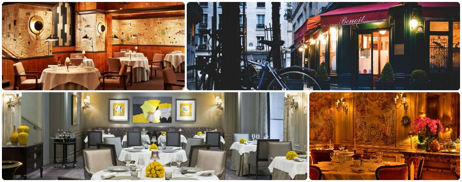 Michelin yıldızlı restoranlar paris