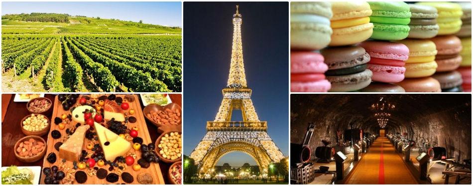 Paris tadım turu