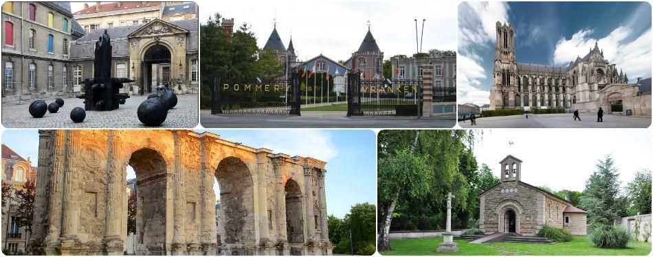Reims gezilecek yerler