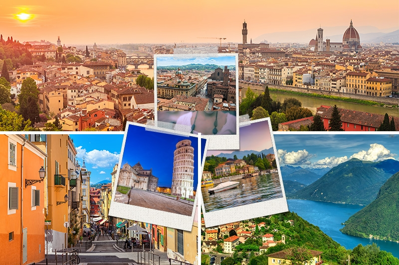 ITALY - FRANCE - SWITZERLAND TOURS